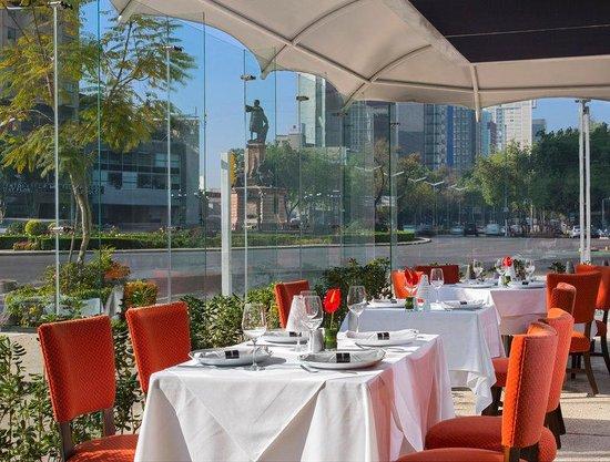 Le Meridien Mexico City: Restaurant Terrace
