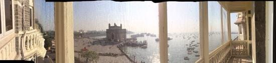 Gateway of India: Taj View from balcony