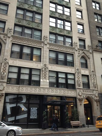 Refinery Hotel: Refinery front