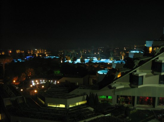 Susesi Luxury Resort : Вид с балкона