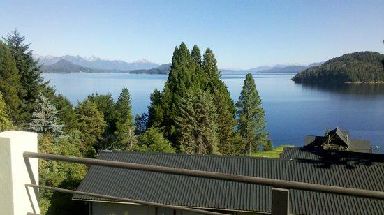 Altuen Hotel Suites&Spa : vista desde el balcón de la habitacion, increible!!