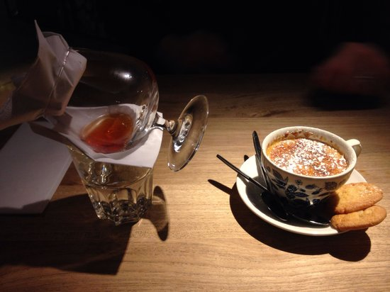 The Old Bull's Head: Earl Grey Creme Brulee