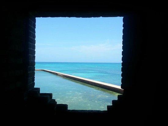 Dry Tortugas National Park: Vista da Fort jefferson