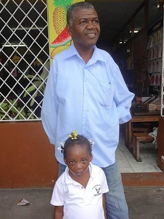 Kenneth's Jamaican Dream Vacation - Tours: Ken, & his grand daaughter