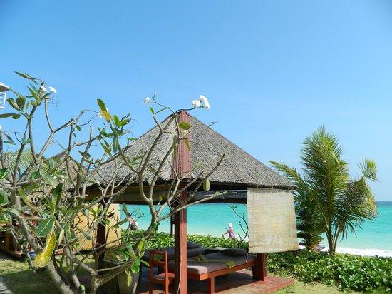 P.P. Erawan Palms Resort: postazione massaggi