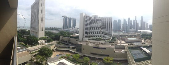 Pan Pacific Singapore: View from our room