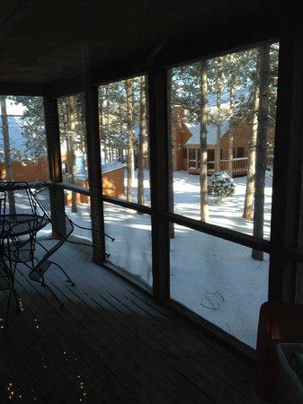 Christmas Mountain Village: View from Villa Porch