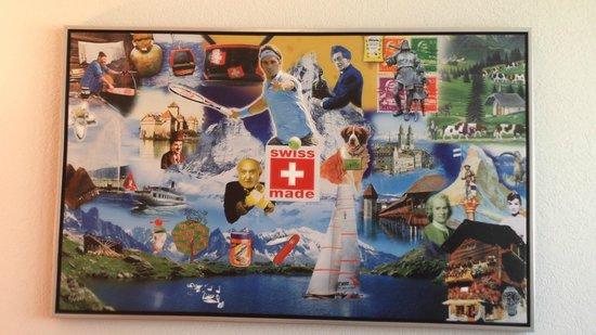 SwissEver Hotel Zug: Картина на стене