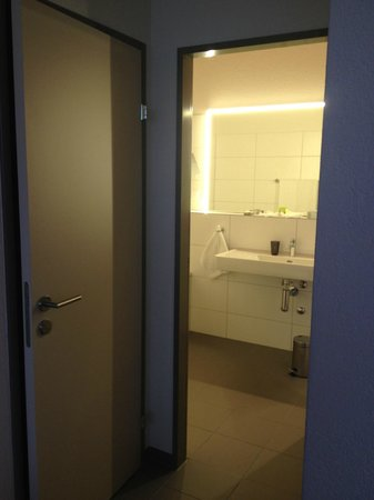 SwissEver Hotel Zug: Санузел и ванная