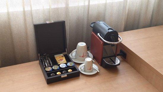 SwissEver Hotel Zug: Кофе-набор. Кофе очень вкусный!