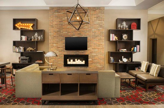 Four Points by Sheraton Jacksonville Beachfront: Lobby Library