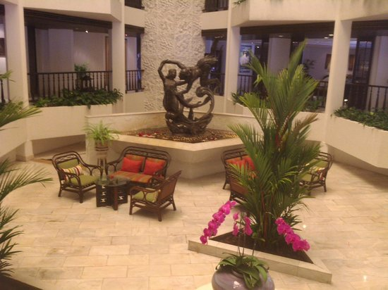 Siam Bayshore: интерьер внутри отеля