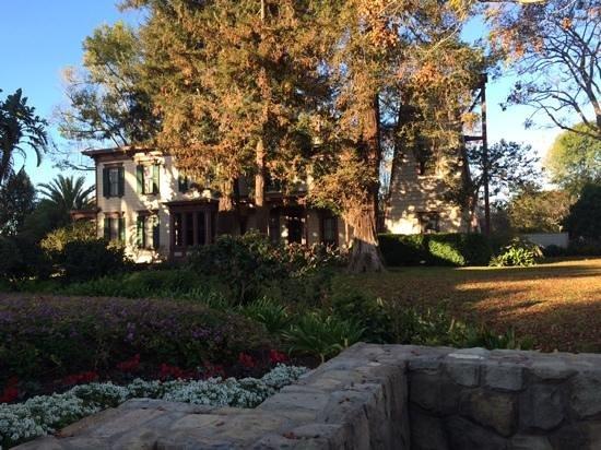 Pacifica Suites Santa Barbara : Um dos dos jardins internos.