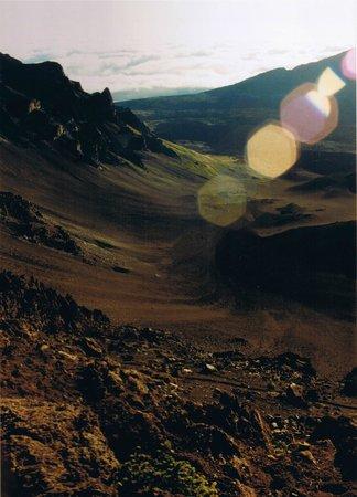Haleakala National Park : Die Aufnahme habe ich gemacht, nachdem die Sonne aufgegangen war.