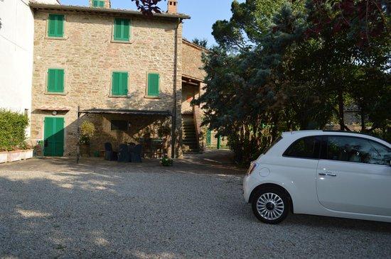 B&B Casa Capanni: appartement op 1ste en 2de verdiep