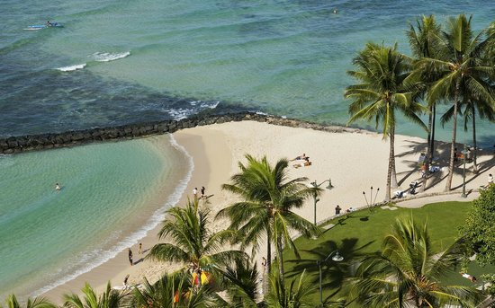 Aston Waikiki Circle Hotel : Local View from the top floor