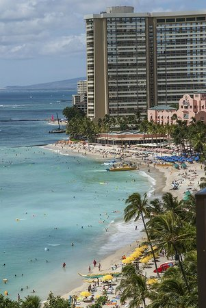 Aston Waikiki Circle Hotel: Waikiki central