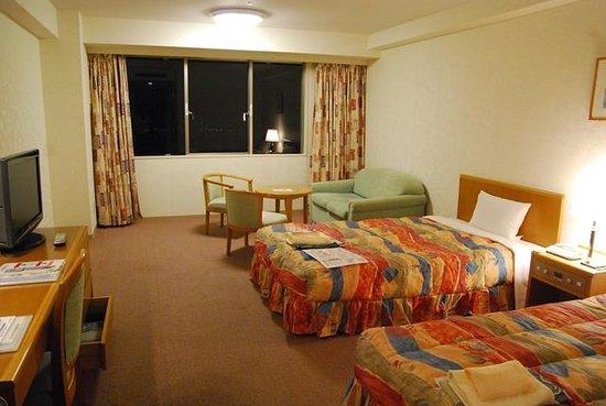 Kushimoto Royal Hotel: 洋室ツイン