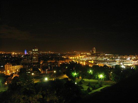 Hotel Miramar Barcelona: Вид с балкона