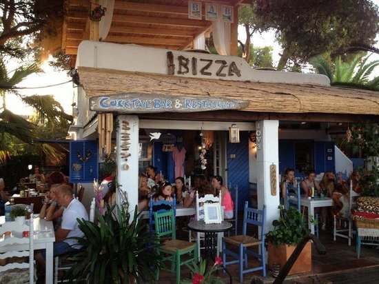 Ibizza Pizzeria Cocktail Bar: Pizzería Ibizza