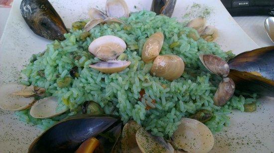 C Seven Restaurant: Riso Mare Blu