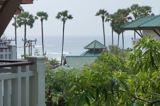 Karon Princess Hotel: Вид с балкона
