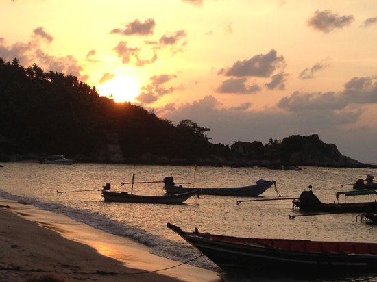 Sai Nuan Beach: Sunset
