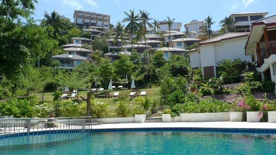 Pinnacle Koh Tao Resort: Holelanlage