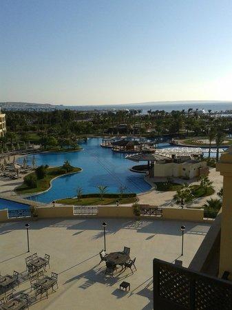 Steigenberger Al Dau Beach Hotel: Blick vom Balkon