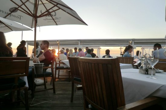 The Bungalow : Terrasse