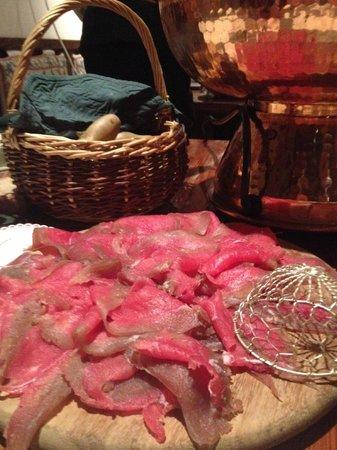 Bar a Fromage, Restaurant de Montagne: carne