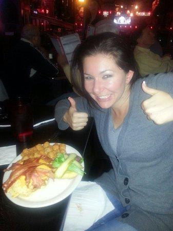 The Vortex : Tori's coronary bipass burger