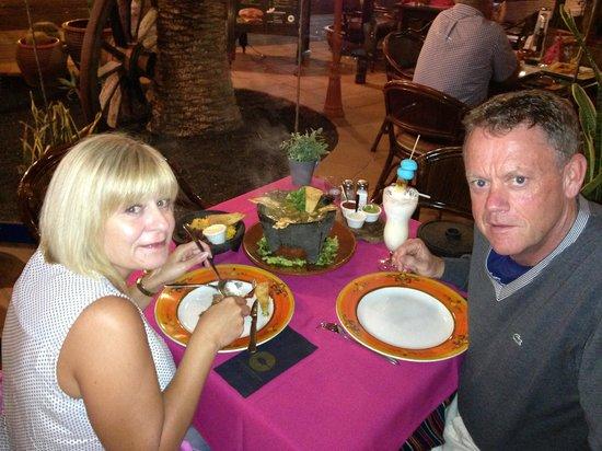 La Hacienda: Tasted as good as it looked..