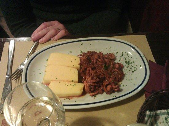 Ostaria a La Campana: Moscardini in umido