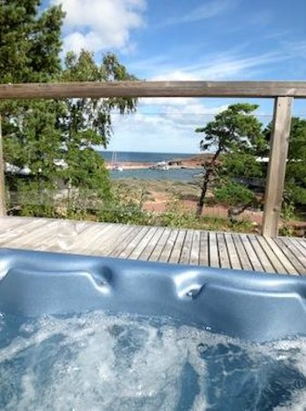 HavsVidden Aland: Our very own jacuzzi