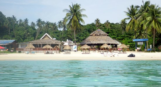 BuBu Villa: vue de la plage