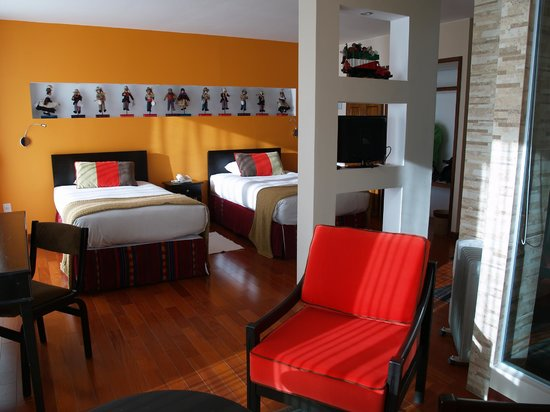 Hotel Rosario Lago Titicaca : Room