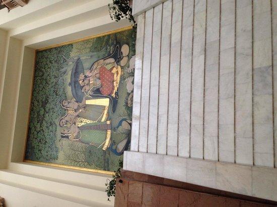 Mansingh Towers: La hall