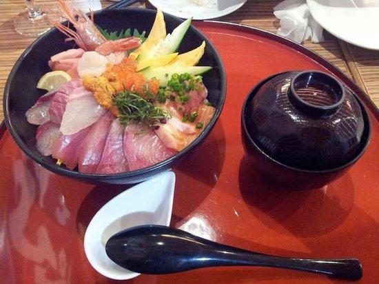 Chisun Inn Kagoshima Taniyama: 金比羅丸 食事