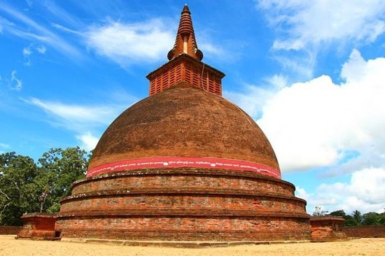 Buttala, Sri Lanka: The Stupa