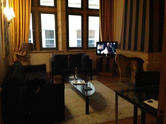 Cour des Loges: Living Room
