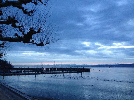 RIVA - Das Hotel am Bodensee: Stunning view of Lake Konstanz