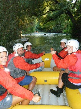 Centro Rafting di Campobase: un tratto del percorso.. *_*