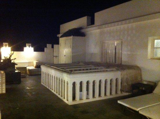 Riad Malaika: Terrasse