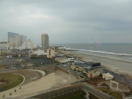 Bally's Atlantic City : View from the 28th floor