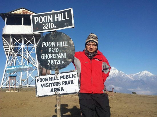Poon Hill: At the top ...