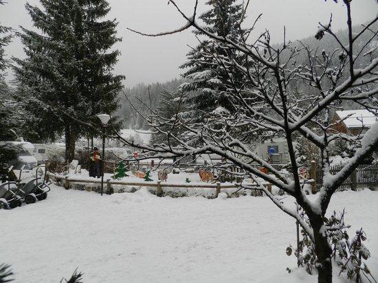 Camping Catinaccio Rosengarten: Neve