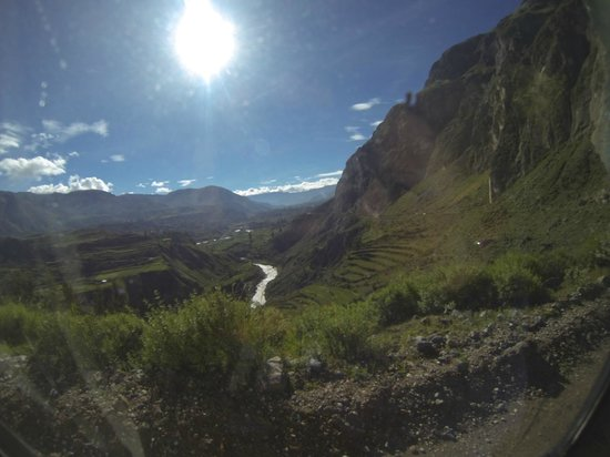 Condor's Cross: The road to Cruz del Condor