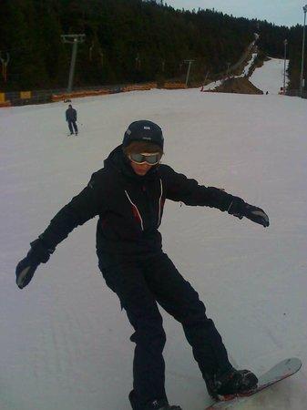 Hotel Helga: Snowboarder