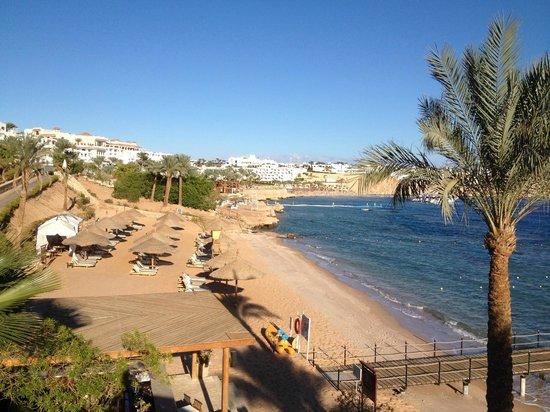 Hyatt Regency Sharm El Sheikh Resort: Regency club beach at Middle Gardens bay